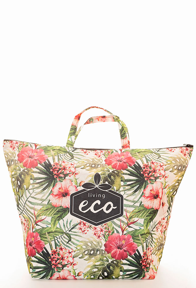 RPET Tropical Beach Bag