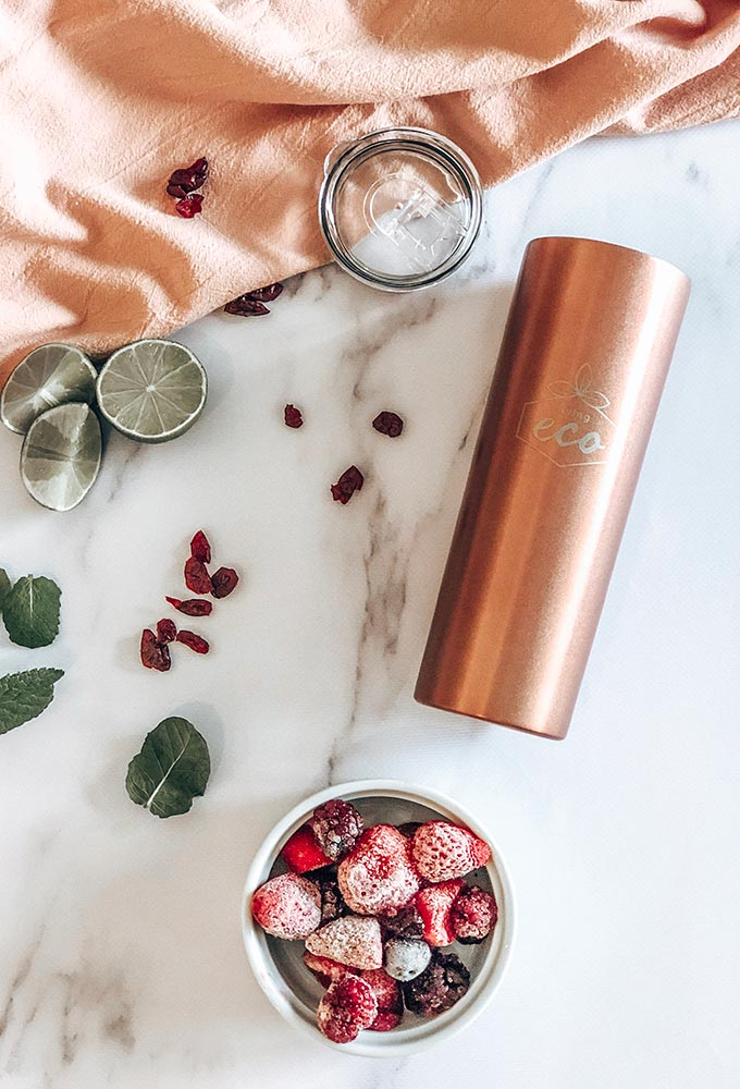 Rose Gold Insulated Cup